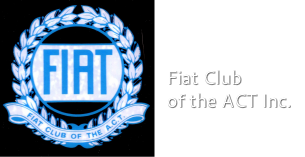 Fiat Club <br />of the ACT